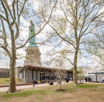 Statue of Liberty Visitor Screening Center building