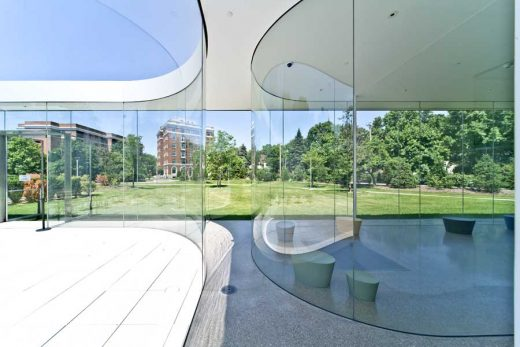 Toledo Museum of Art Glass Pavilion building by architects SANAA