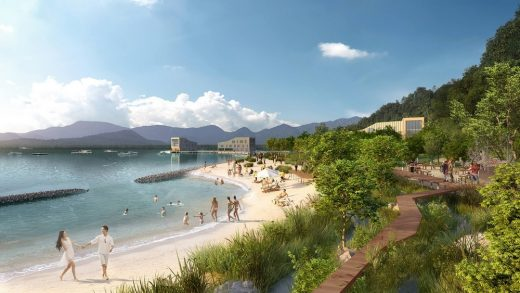 Protective Coastline Development Southern China - design by KCAP + FELIXX