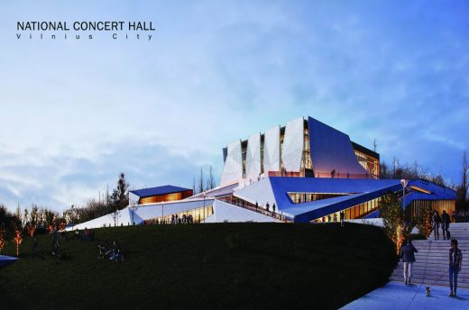 Vilnius Concert Hall Competition Design - Lithuania architecture news