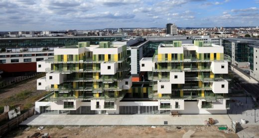 28 Social Housing Units in Courbevoie, Paris