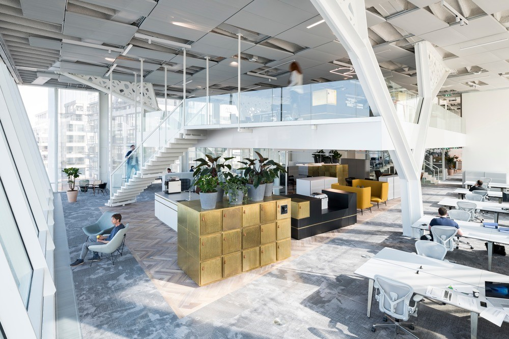 Amvest Office Building in Amsterdam - e-architect