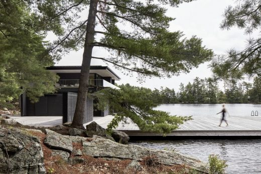 Boathouse Muskoka Lakes Ontario