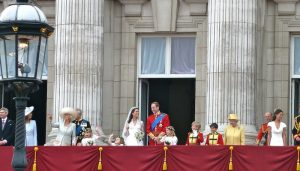 Buckingham Palace Royal family on balcony London