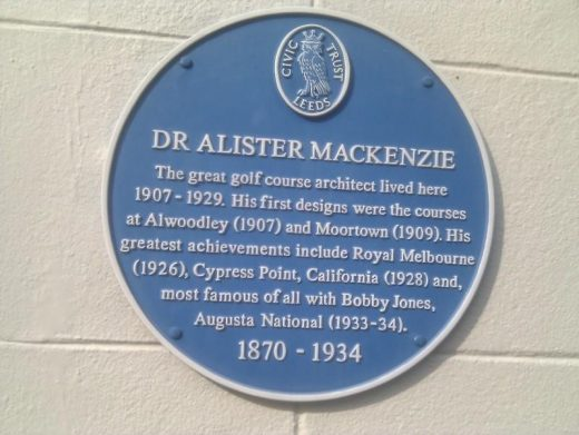 Dr. Alister MacKenzie the Doctor of Golf Course Design