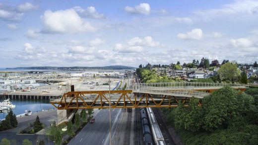 Everett Grand Avenue Pedestrian Bridge