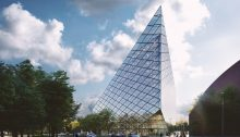 Hanzas Spire Tower Riga