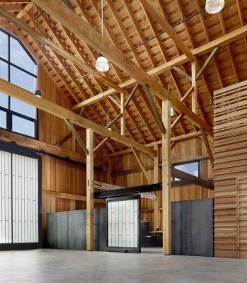 Hay Barn Santa Cruz California