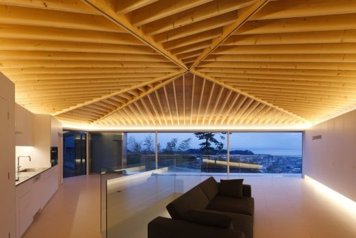 Modern House with Views in Japan