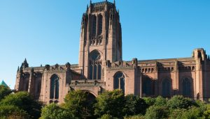 Cathedral Church of Christ in Liverpool building
