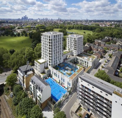 Tiger Way School and Homes London by Hawkins\Brown Architect