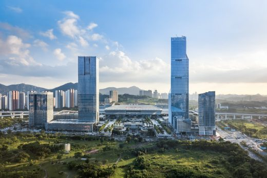 North Station Huide Tower in Shenzhen
