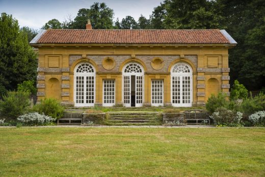 Orangery at Hestercombe, Taunton, Somerset, England