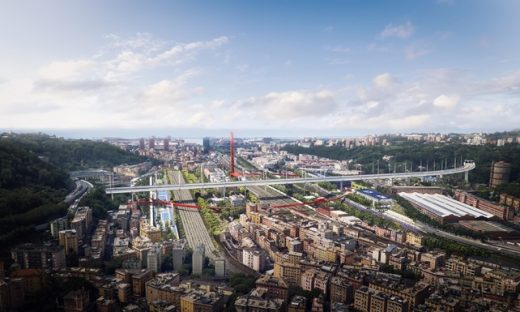 Parco del Ponte in Genoa Competition winning design Italy