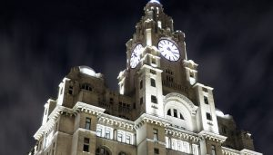 The Royal Liver Building River of Light festival Lighting 2019