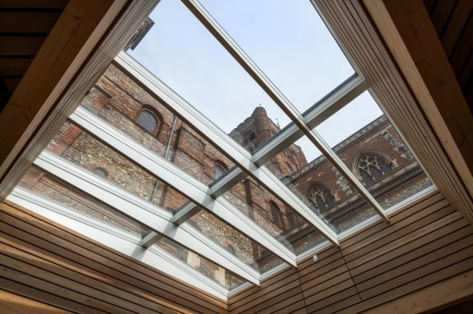 New St Albans Cathedral Welcome Centre Building, Hertfordshire