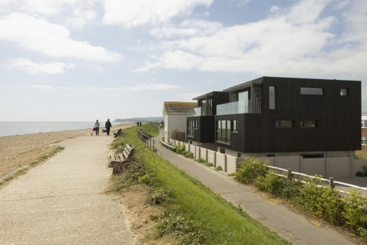 The Line Houses Camber Sands Beach East Sussex