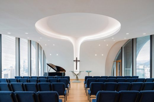 Wesleyan House Church HK - design by Hong Kong Architect practice