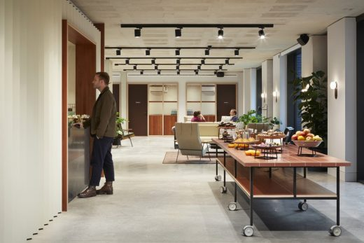 York House, King's Cross Workspace London interior