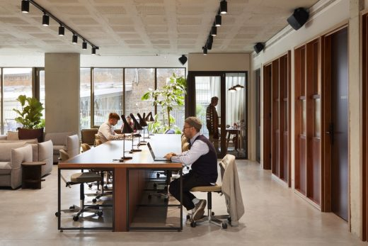 York House, King's Cross Workspace interior