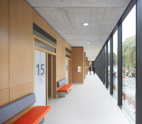Children's Medical Centre, London, England, UK, design by Stanton Williams architects