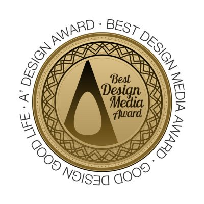 Best Design Media Award at the 2019 A' Design Awards