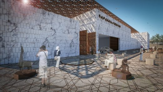 Barjeel Museum for Modern Arab Art in Sharjah UAE building design