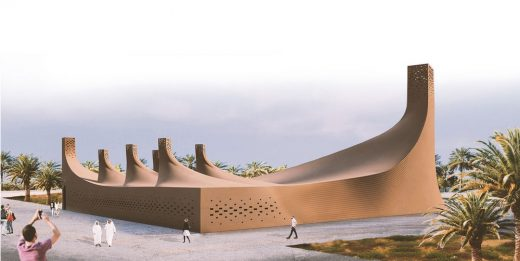 Barjeel Museum for Modern Arab Art, Sharjah, design by Dubai architect
