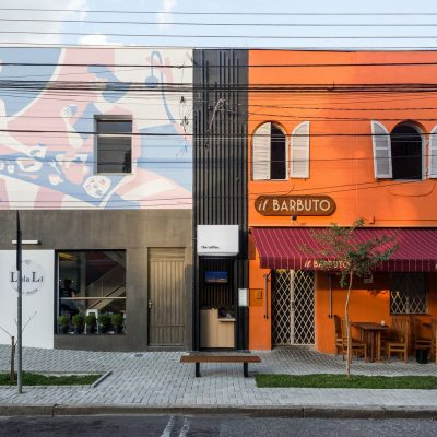 Coffee Prudente Curitiba design by Brazilian Architect office