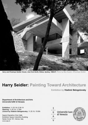 Harry Seidler: Painting Toward Architecture Venice Italy 2019 event