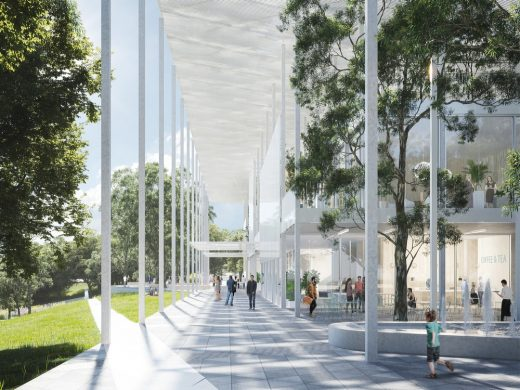 Houston Endowment New Headquarters Design Competition winning design by KDA