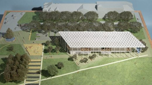 Houston Endowment New Headquarters Design Competition winning design by KDA Architects USA