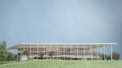 Houston Endowment New Headquarters Design Competition winning design