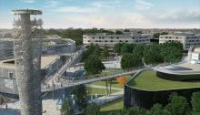 Campus in Kecskemet building design by Hungarian architect office
