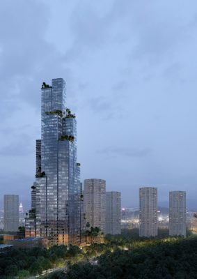 Konka Tower Shenzhen Building