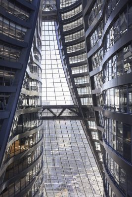 Leeza SOHO Beijing with World's Tallest Atrium