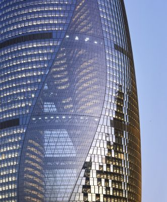 Leeza SOHO by Zaha Hadid Architects in Beijing