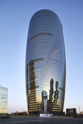 Leeza SOHO tower by Zaha Hadid Architects in Beijing