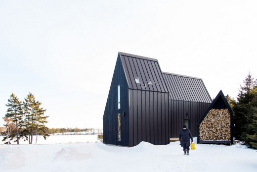 River Cabins Wheatley River Canadian Architecture News