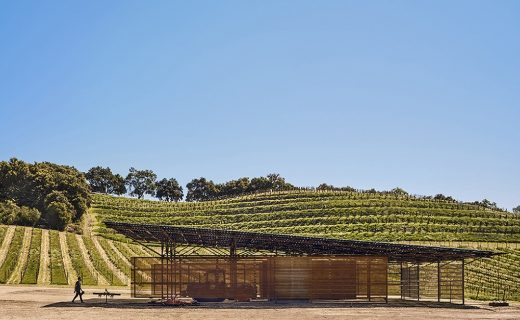 Saxum Vineyard Equipment Barn Paso Robles