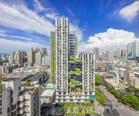 Sky Green Mixed-Use Development in Taichung, Taiwan