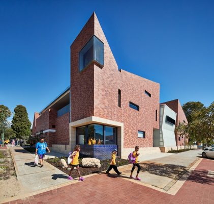 Highgate Primary School Classrooms Perth design by Iredale Pedersen Hook Architects