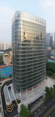 Chinese Tall Building in Shenzhen