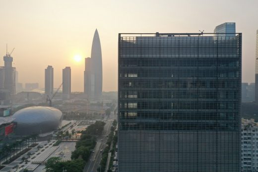 New Building Development in East China design by Jaeger Kahlen Partners Architects Ltd