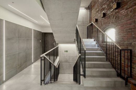 Jazz Loft Apartment Building Budapest by T2a Architects