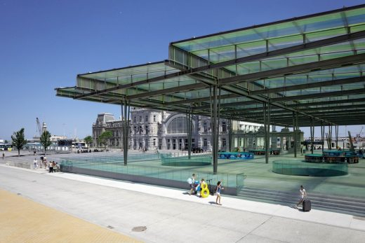Station by the Sea Oostende - Belgian Architecture News