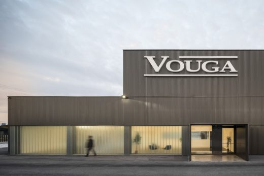 Vouga Industrial Building Agueda - Portuguese Architecture News