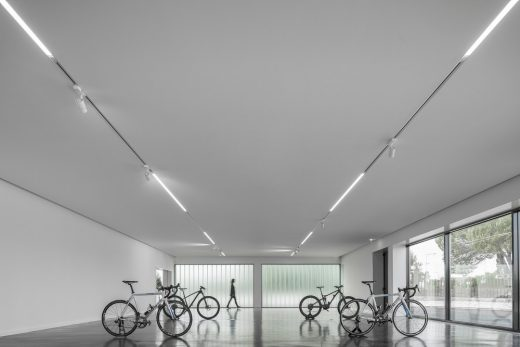 Contemporary Aveiro District Warehouse Project in Portugal design by atelier Nu.ma
