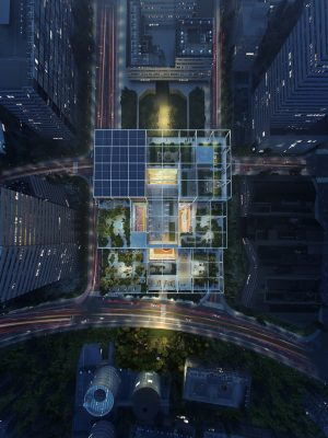 Alibaba Shanghai Headquarters China building by Foster + Partners Architects