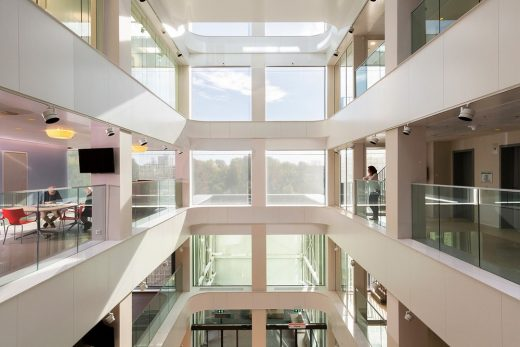 Amsterdam UMC Imaging Center Netherlands Building by Wiegerinck Architects